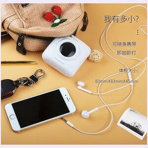 Image 5 - Mini imprimante thermique Bluetooth Portable, appareil Photo de poche, pour iOS Android, Paperang