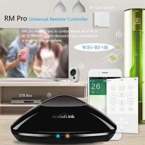Image 3 - Broadlink FastCon RM פרו RM4 RM4C מיני IR + RF + 4G אוניברסלי אינטליגנטי בית חכם שלט רחוק בקר עבור גוגל בית Alexa