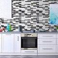 Adesivo de parede Da Telha de Mosaico Adesivos de Parede Auto-adesivo Decalque Para Casa Cozinha Casa de Banho moderno Mural Decor decoracion hogar