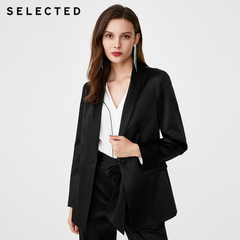 SELECTED Women's Summer Regular Fit Suit Jacket S|419372507