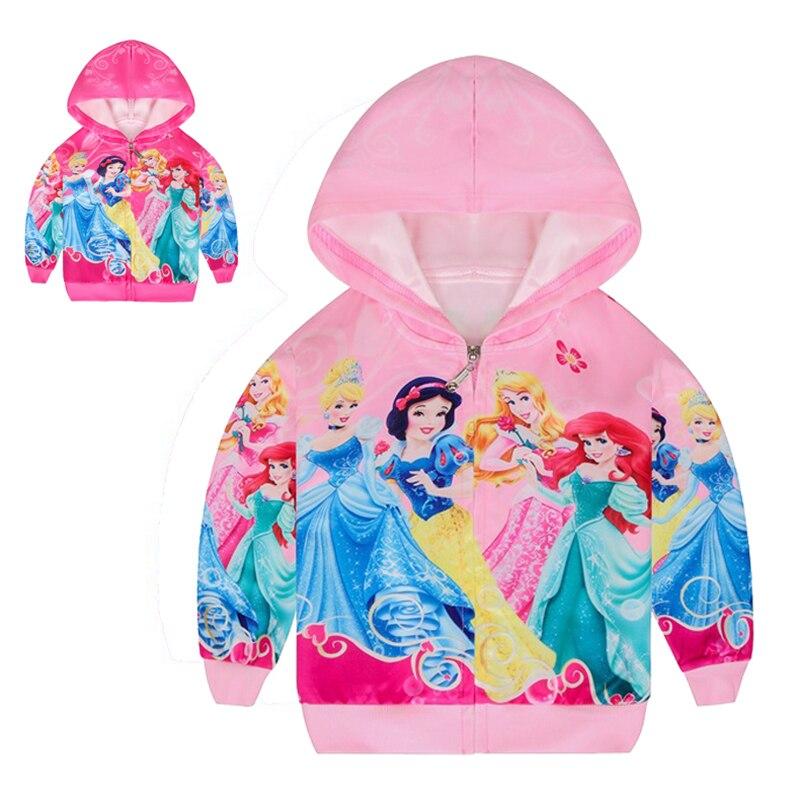 2 цвета, куртки для девочек с рисунком Белоснежки милое пальто принцессы на Хэллоуин для девочек весенне-осенняя Повседневная тонкая детска...