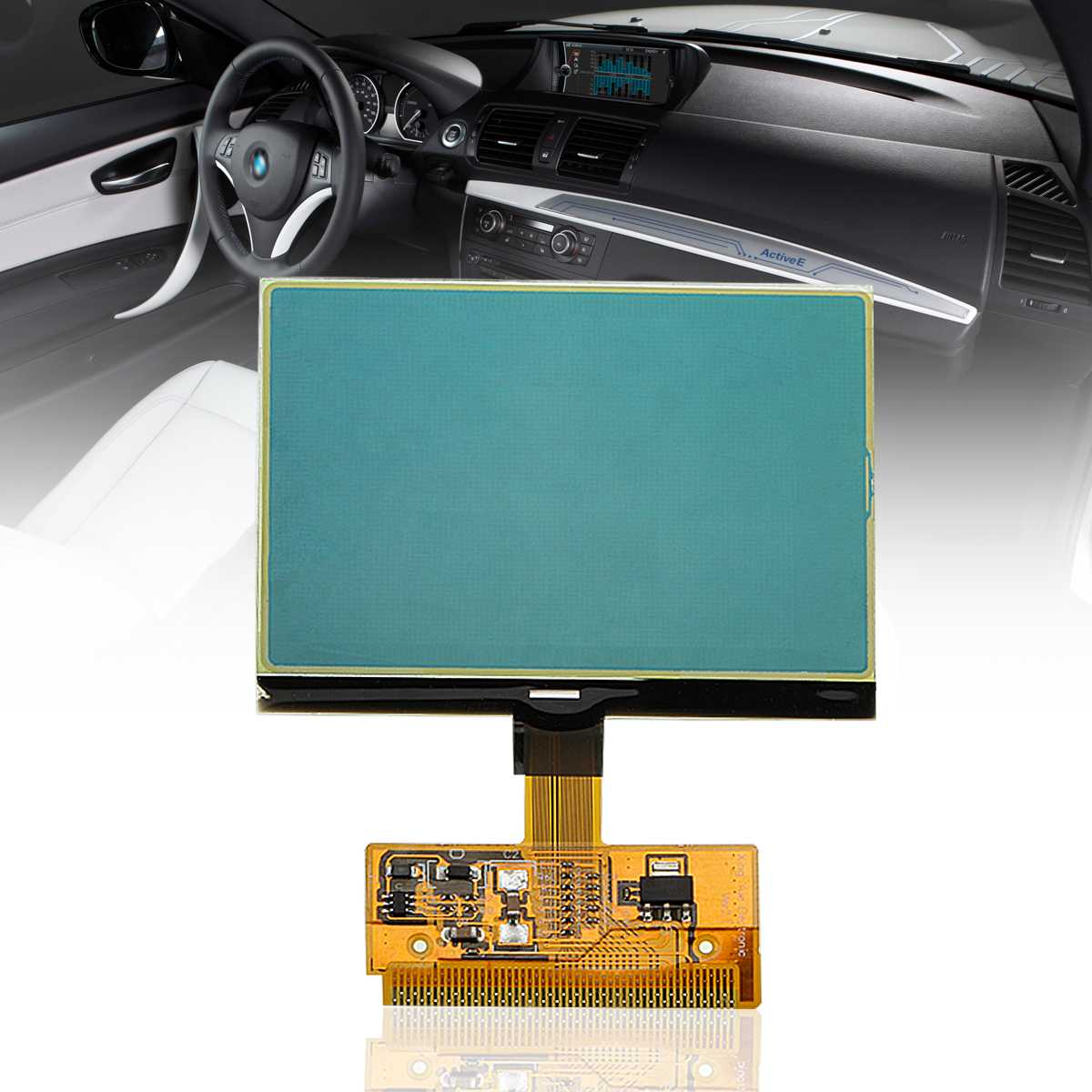 VDO LCD Repair Cluster Speedometer Display Screen For Audi A3 A4 A6 For Volkswagen For VW For Passat For Seat New