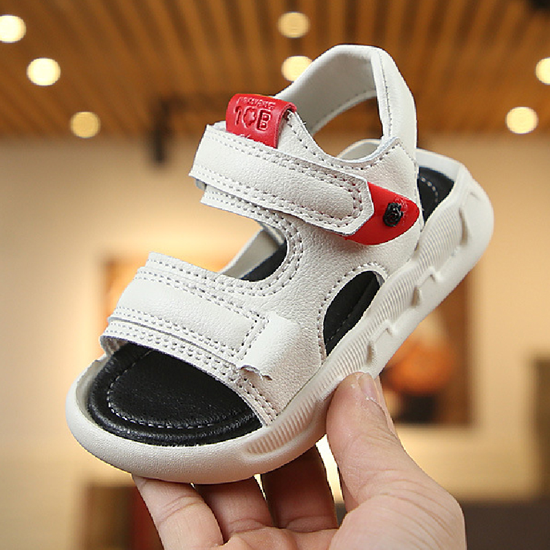 Toddler Shoes Boys Girls Sandals White Black Beach Sandals Slippers Children Water Shoes 2020 Teenage Summer Shoes Size 21-36