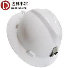 Capacete de segurança borda cheia capacete duro boné de trabalho leve ao ar livre construção ferroviária metalurgia mina mineiro verão pára-sol