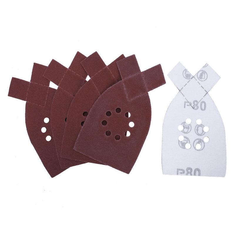 50pcs Sander Sanding Sheets Grit Sandpaper For BLACK & DECKER KA220G KA230