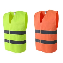 Practical Running Cycling Reflective Vest Durable High Visibility Outdoor Breathable Protection Clothing Safety Equipment