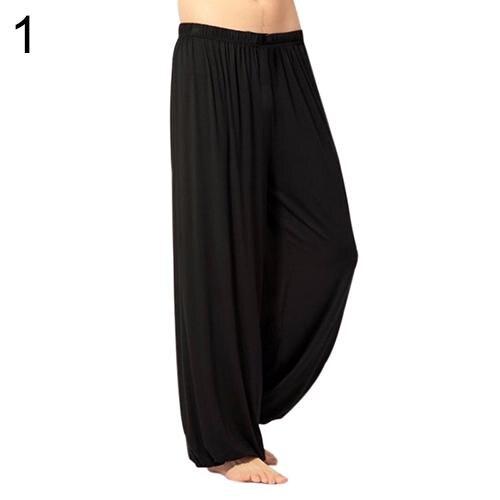 Unisex Casual Sport Jogger Baggy Trouser Jumpsuit Harem Yoga Pants Bottom Slacks Casual Sports Loose Men's Trousers Xmas Gift