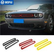 MOPAI Griglia di Auto Aria condizionata Vent Decorazione Adesivi Copertura per Dodge Challenger 2015 + Accessori Esterni