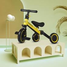 3-in-1 Carbon Steel Kids Tricycles Balance Bike Trike Baby walker Toddler Outdoor Riding Bi