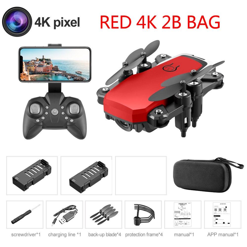 Red 4K 2B Bag