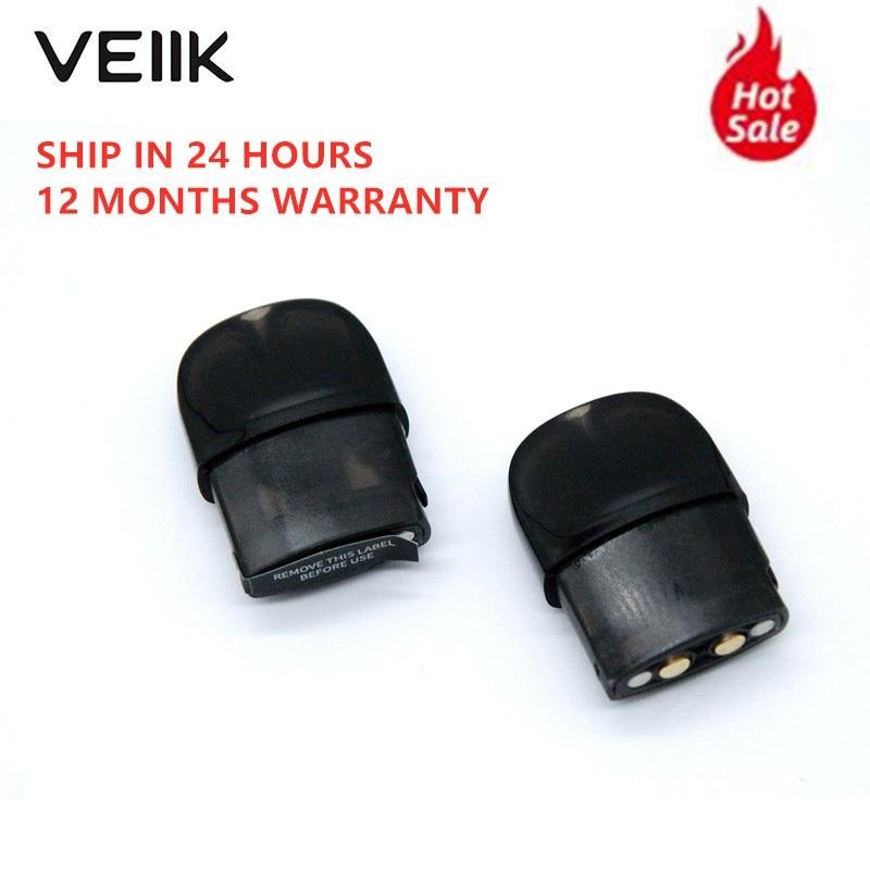 10pcs/set Original VEIIK Airo Zero Pod Replacement Kit Vape 8 Pod Cartridge 2ml Capacity 1.2ohm Coils For VEIIK Airo Pod Kit