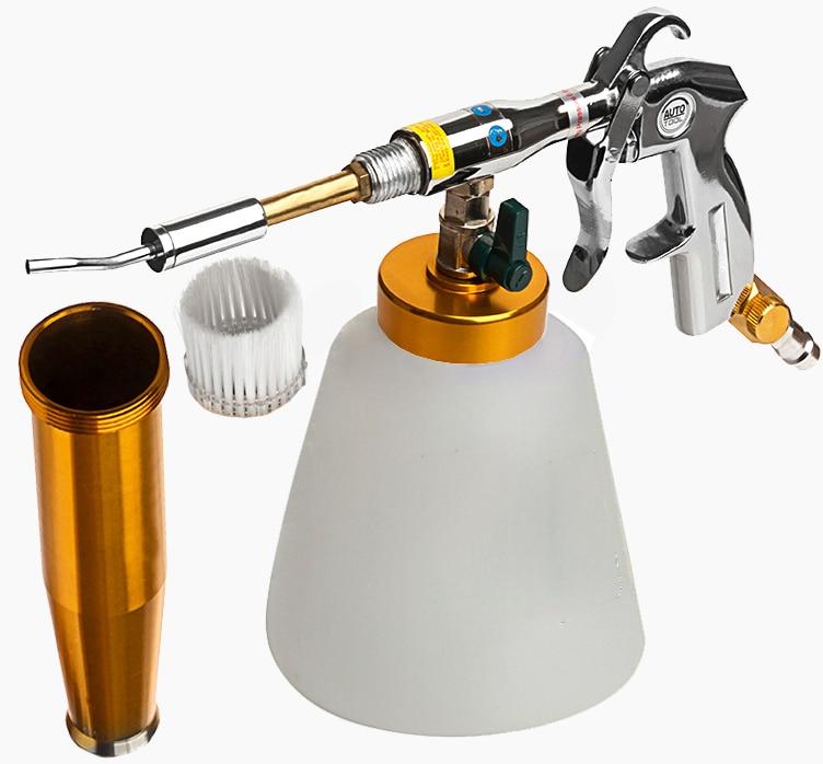 Black/preto Bearing tornador cleaning gun , high pressure car washer tornador foam gun,car tornado espuma tool(China)