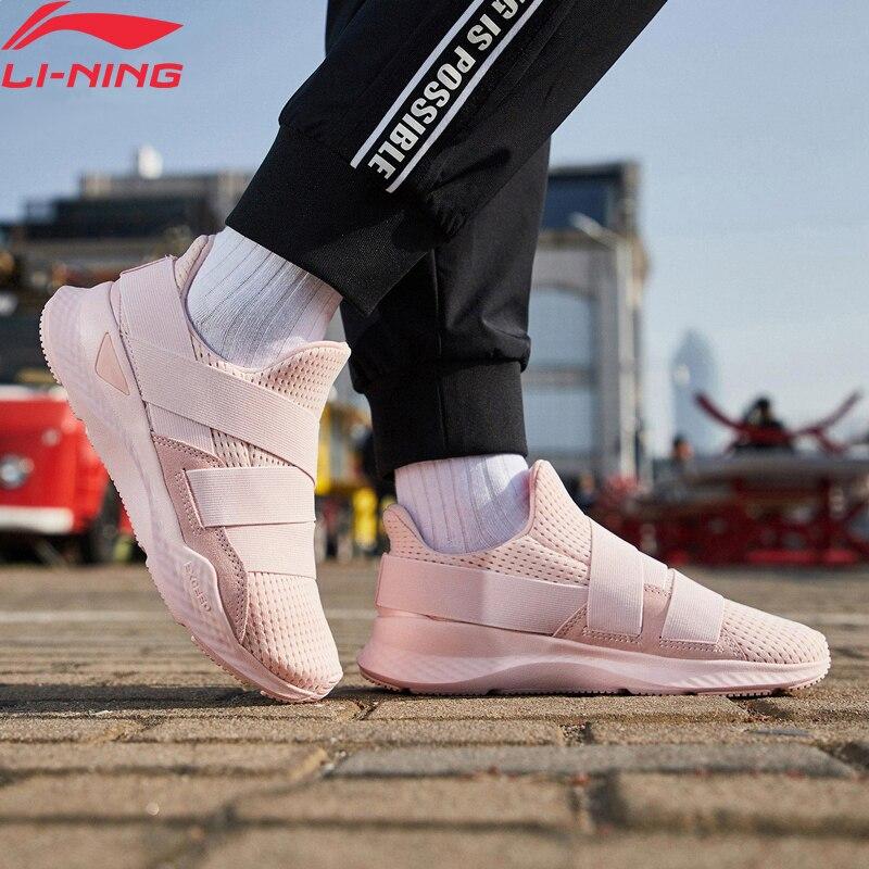 リチウム寧女性 EXD プロフィートライフスタイル靴クラシック裏地クラウド通気性クッションスポーツシューズレジャースニーカー AGCP016 YXB273  グループ上の スポーツ & エンターテイメント からの ウォーキングシューズ の中 1