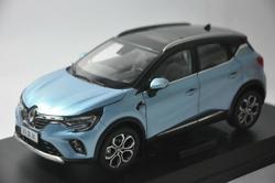 1:18 Модель литья под давлением для Renault Captur 2019, синий внедорожник, игрушечный автомобиль из сплава, миниатюрная Коллекция подарков, лидер про...