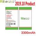 WISECOCO 3300 мАч BQ-5020 батарея для BQ BQS 5020 BQ-5065 BQS 5065 Strike Phone в наличии последняя продукция батарея + код отслеживания