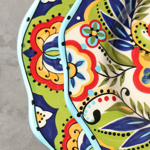 Bohemian Hand-painted Tableware