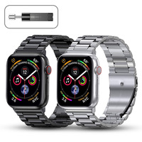 Metal Strap for Apple Watch Band 44mm 42mm 40mm 38mm Stainless Steel Bracelet for for iWatch 6 SE 5 4 3 2 1 Series Accessories 1