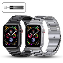 Metal Strap for Apple Watch Band 44mm 42mm 40mm 38mm Stainless Steel Bracelet for for iWatch 6 SE 5 4 3 2 1 Series Accessories