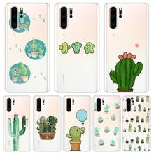 Cactus Floral Plants Soft Silicone Phone Case For H