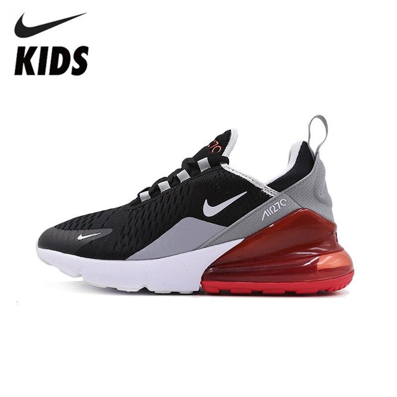 Nike air max 270 crianças sapatos originais confortáveis crianças tênis de corrida esportes leves ao ar livre #943345