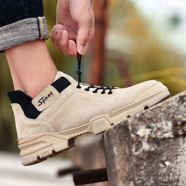 2019 Mens Shoes Casual Slip On Breathable Hot Sale Air Cushion Keep warm Sneakers Men Shoes Spring Shoes Outdoor Flats Shoes 18