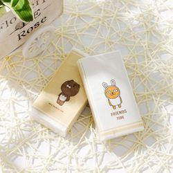 12 paquetes servilleta de dibujos animados patrón de papel 3 capas de pulpa de madera pañuelo de tejido Facial GXMC