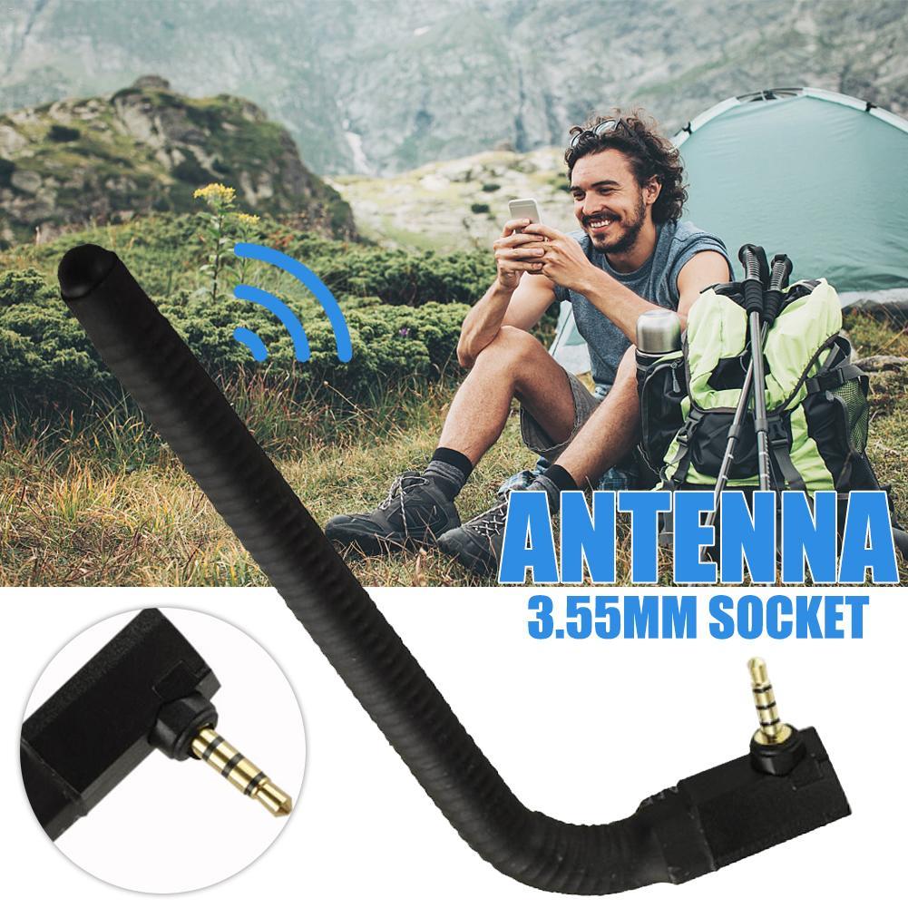 3.5mm Width Mobile Phone Signal Enhancement Antenna Headphone Port External Antenna For Better Signal Transfer
