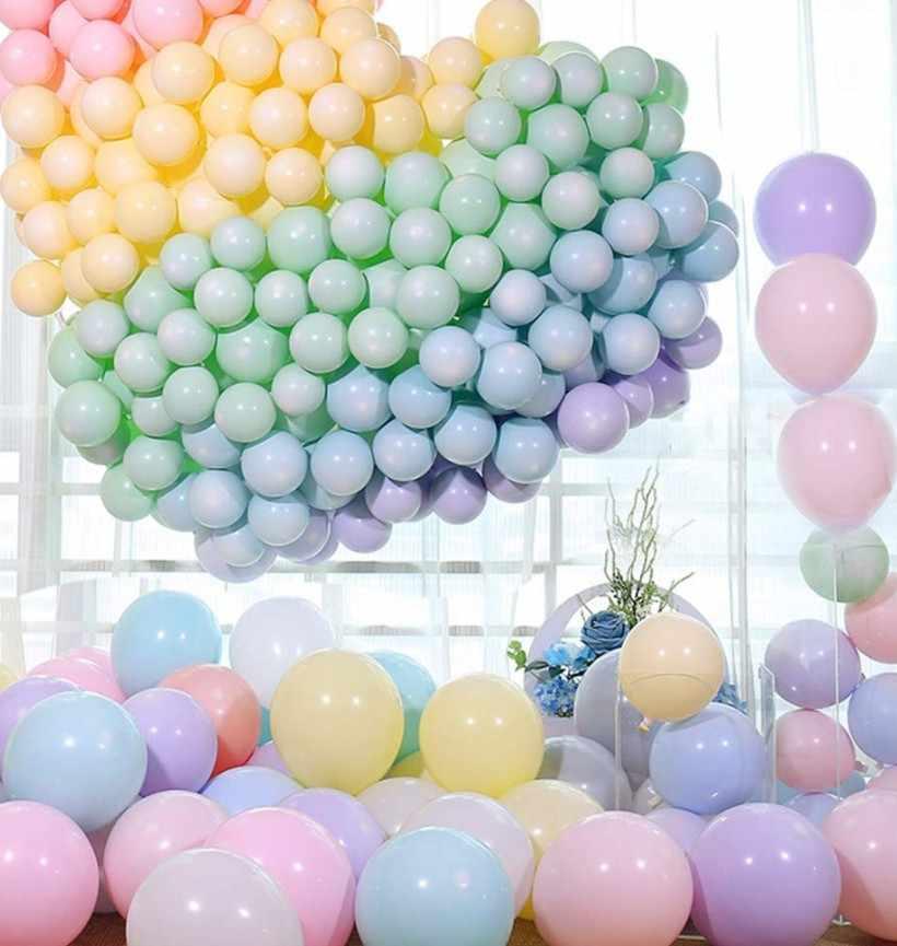 30pcs di compleanno palloncini 10inch 2.2g Lattice Elio palloncino Ispessimento Della Perla del partito palloncino Sfera Del Partito kid giocattolo del bambino ballons wedding