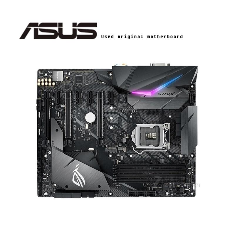 For ASUS  ROG STRIX Z370-F GAMING Original Motherboard Socket LGA1151  DDR4 Z370 Desktop Motherboard