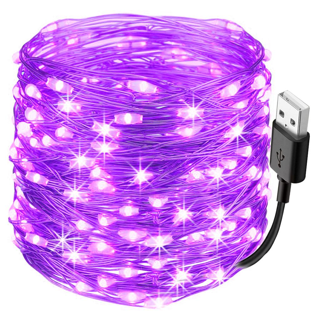 10M USB Bar Disco Dj LED Stage Light Effect String UV Lamp Ultraviolet Black Par Laser Party KTV Christmas Halloween Machine