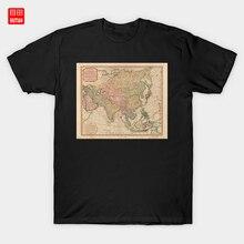 asia map RETRO VINTAGE