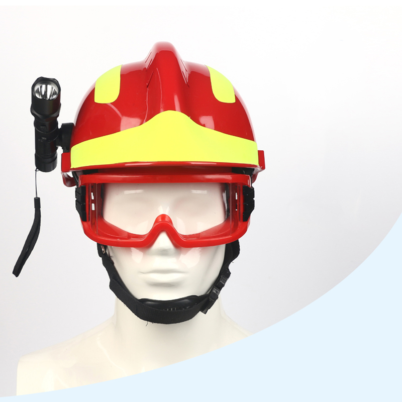 F2 Emergency Rescue Helmet Fire Fighter Safety Helmets Workplace Fire Protection Hard Hat Protective Anti-impact Helmet