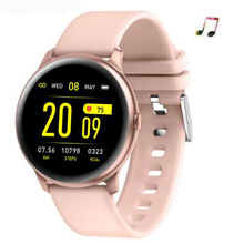 kW19 Women smart watch Heart Rate Blood Pressure Sport Men Smart Bracelet Mp3 Fitness Tracker wristband PK miband 4