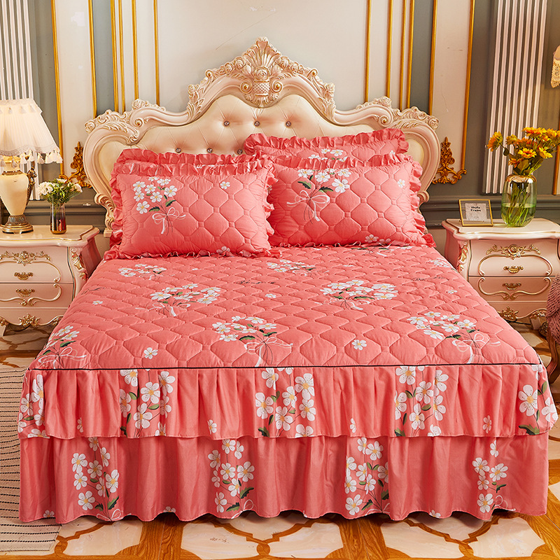 Yaapeet 3 pçs princesa jogo de cama