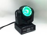 mini cabeza móvil led 60 W haz escenario luz led con 12LED SMD5050 RGB super brillante LED DJ control dmx de luz de punto