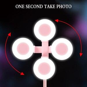 """Image 4 - Capsaver 67 """"Selfie Stok Bluetooth Universele Statief Selfie Stok met Licht Aluminium Stok Selfie voor Mobiele Android Smartphone"""