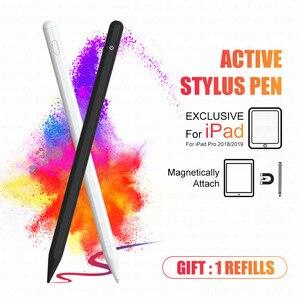 Умный стилус-карандаш для Apple iPad Pro 11 12,9 Air Mini, ручка для сенсорного экрана с отклонением ладони, не для Apple Pencil 1 2