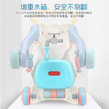 Детские ходунки Детские мультипликационные ходунки коляска многофункциональная детская музыкальная игрушка для малышей играть песни Музыка образование