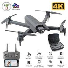 цена 2020 NEW 4K HD Drone Optical flow positioning Wide Angle HD Dual Camera  1080P  WiFi FPV Drone rc quadcopter Folding RC Drone онлайн в 2017 году