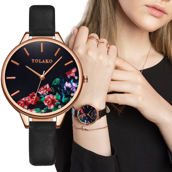 Women Watch Luxury Brand Casual Exquisite Leather Belt Watch With Fashionable Simple Large Dial Ladies Quartz Watch reloj mujer 2017 hot sale women fashion casual wristwatches brand luxury watches women sky clock dial leather belt quartz watch reloj mujer