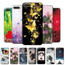 יפה נוף מקרה עבור Huawei Y5 Y6 2017 מקרה כיסוי עבור Huawei Y6 Y7 Y5 ראש 2018 מקרי טלפון על y9 2018 Y6 Y7 2019 קאפה