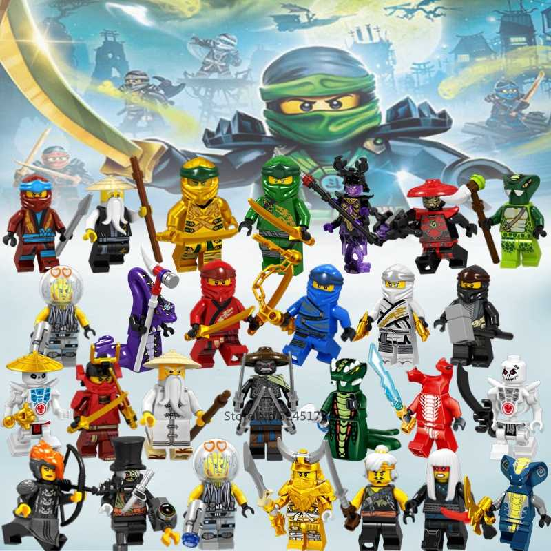 Ninja Bouwstenen Kai Jay Cole Zane Lloyd Nya Garmadon Skylor Actiefiguren Ninja Movie Model Bricks Sets Speelgoed voor kinderen