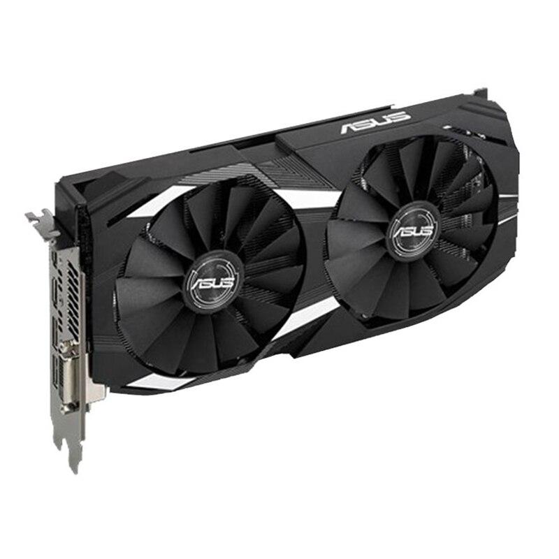 Видеокарта ASUS RX 580 8 Гб GPU AMD Radeon RX580 8 Гб графические карты PUBG компьютерный игровой экран VGA DVI HDMI видеокарта 570 560 550-1