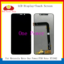 купить 10Pcs/lot LCDs For Motorola P30 Note XT1942 LCD Display Touch Screen Digitizer Assembly for Moto One Power LCD Replacement по цене 11599.17 рублей