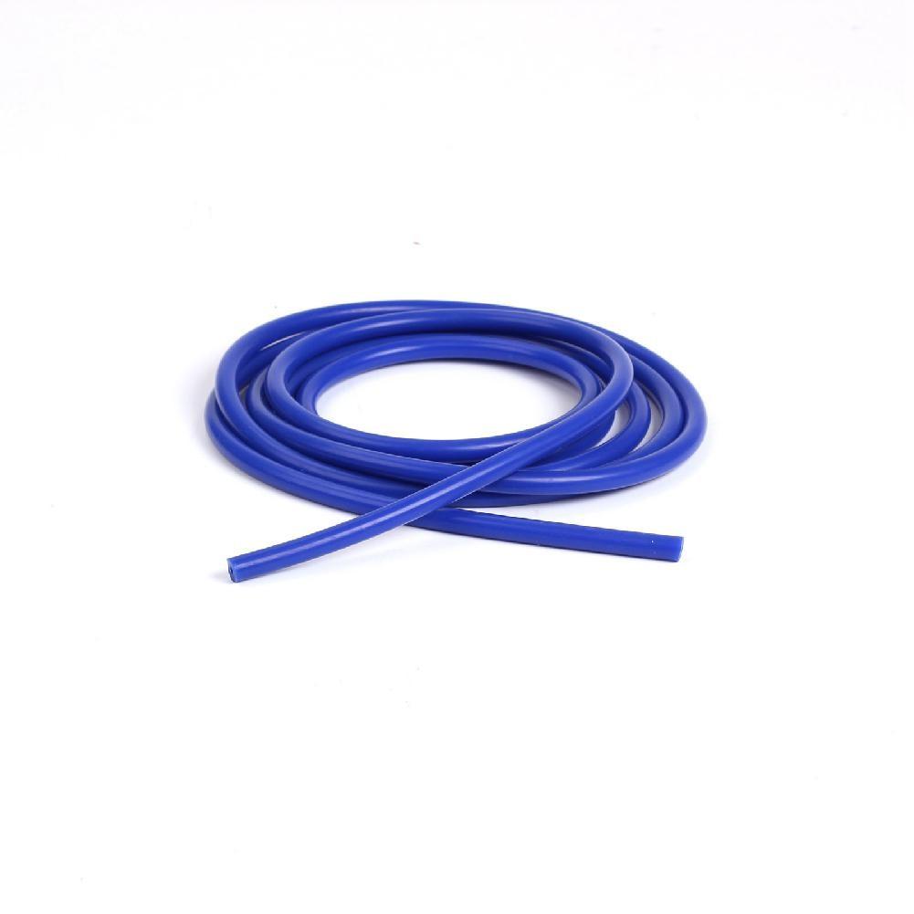 Yfashion Universal 1M 3mm/4mm/6mm/8mm/10mm/14mm Blue Silicone Vacuum Tube Silicone Hose Car Accessories