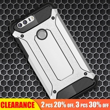 [Clearance] For Huawei Honor 8 Lite Luxury Armor Soft Silicone Case Shockproof Anti-knock Full Back Cover
