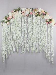 Flowers Wedding-Decoration Hydrangea Luxury Rose-Peony T-Station Mix Window 2M Cited