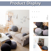 3D Artificial Huge Living Stones Pillows Plush Toys For kids Creative Home Decoration New Pebble Footstool Baby Prop D20