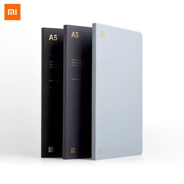 Xiaomi A5 Laptop Sinh Viên Nhật Ký Kinh Doanh Văn Phòng Làm Việc Nghiên Cứu Văn Phòng Phẩm Da Mềm Di Động Tahiti Giấy 180 ° Phẳng Lịch