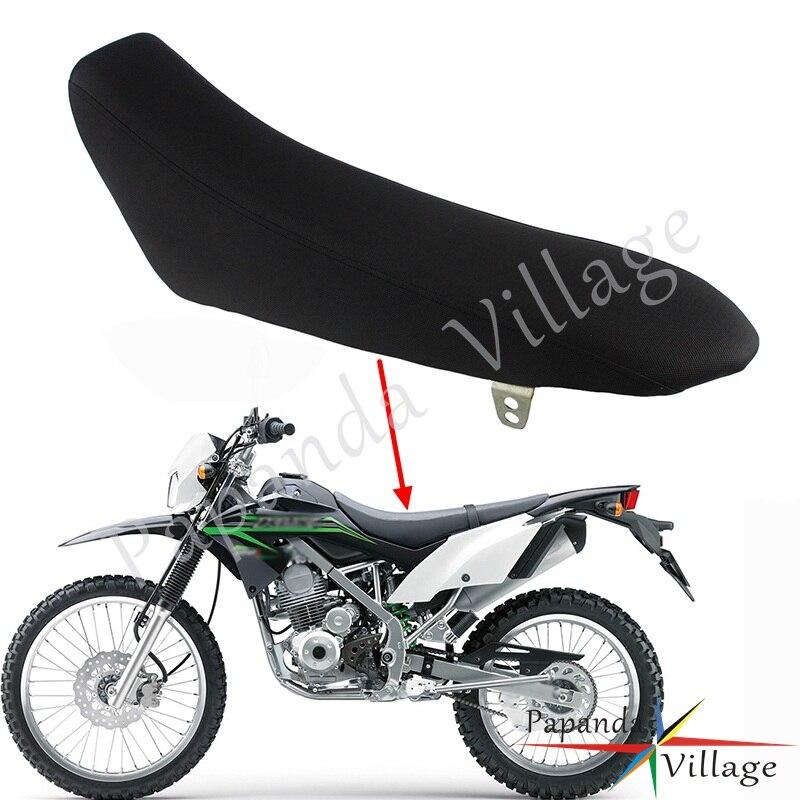 Housse de siège souple moto coussin de siège en mousse pour moto Kawasaki KLX150 moto Motocross moto Supermoto hors route coussin de siège